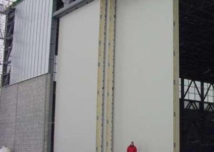 Hangar door